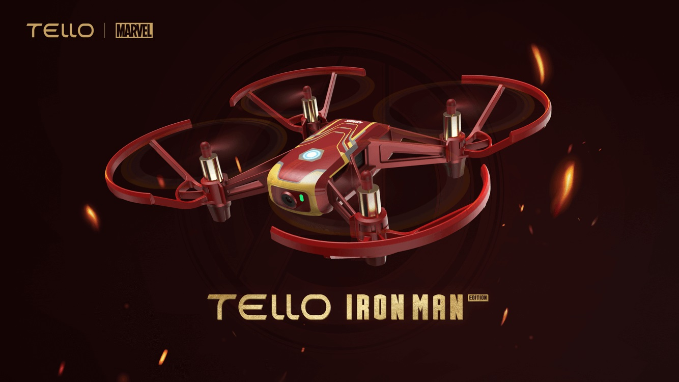 TELLO IRON MAN