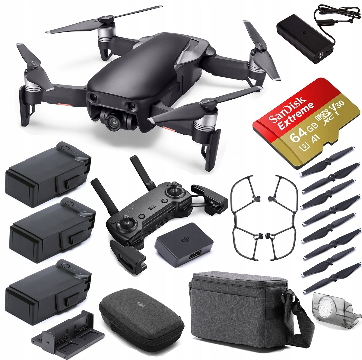 DRON DJI MAVIC AIR FLY MORE COMBO